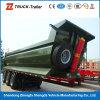 3 Radachse Tipper Truck Semi Trailer Dump Trailer mit Hyva Hydraulikanlage