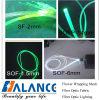 Seitliches Glühen-Plastikaus optischen Fasern (SOF-Serien)