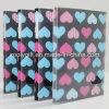 Plástico impreso corazón PP del amor/álbumes de foto del PVC 4X6  con el rectángulo claro