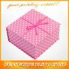 Коробка розового пятна магнитная бумажная