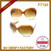 Óculos de sol do atacadista de China do produto F7124 novo