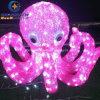 Acryl-LED Krake der Unterwasserdekoration-Leuchte-