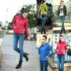 De vrouwen de Parka van Dame Warm Jacket Autumn Winter Overjas verdunnen Slank