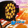 18X10W RGBWA+UV 6 In1 LED PAR Light (qc-LP022C)