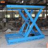 Table élévatrice manuelle de ciseaux de cargaison hydraulique