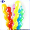 De kleurrijke Goedkope Spiraalvormige Ballons van het Latex van de Markt van China