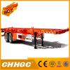 Chhgc 2 차축 40FT 거위 목 모양의 관 해골 콘테이너 세미트레일러