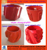 API Stright/centralizador rígido espiral da embalagem do alumínio de molde da aleta, fabricantes dos centralizadores do corpo contínuo do rolo