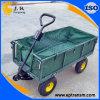 De Gemakkelijke het Overhandigen Groene Wagen van uitstekende kwaliteit van het Metaal