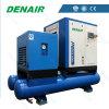 Compresseur d'air combiné/par intégration piloté de vis avec le réservoir d'air, filtre