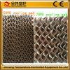 Color amarillo/Brown-Verde de agua de Jinlong 7090 de la pista de enfriamiento evaporativa de la cortina