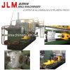 Sistema para la producción de perfiles de aluminio sacados