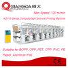 Maquinaria de impresión automatizada serie del fotograbado del carril OPP del Montaje-G