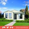 Casa prefabricada del chalet de la estructura de acero de la luz de la fabricación de China