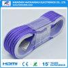 Umsponnenes große Geschwindigkeit 3.1 USB-Aufladeeinheits-Nylonkabel