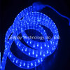 IP68 High Voltage Christmas 3Wire Flat Vertial LED Rope Light