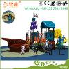 Barco do pirata, equipamento ao ar livre do campo de jogos para miúdos e adulto