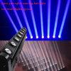 8PCS 10W RGBW LEDのビーム壁の洗浄移動棒ライト