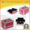 Случай Bx030 красотки розового крокодила Texturized