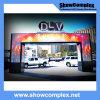 Mur visuel polychrome extérieur de DEL pour la publicité avec la conformité de la CE (pH10 960mm*960mm)