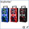 Rádio FM Bluetooth JOGAR USB / SD Reproduzir alto-falante de madeira portátil (XH-PS-723)
