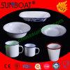Белая эмаль Dish+Mug+Bowl Dinnerware фарфора