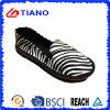 Zapatos de lona de EVA Outsole de la cebra (TNK35318)