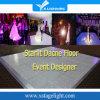 Dance Floor van het Programma RGB Door sterren verlicht leiden van het Ontwerp van de gebeurtenis