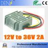 A C.C. a C.C. 12V ao módulo do impulso do conversor de 36V 2AMP 72W, DC-DC intensifica o regulador da potência