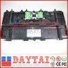4 Entrée 4 Sortie Fig8 Câble à 16 fils de fibre optique Câble d'arrêt Boîte de raccordement Fermeture d'épissure