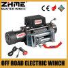 12 voltios 12000lbs del torno eléctrico resistente de Zhme del camino con la cuerda de alambre