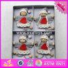 2017 poupées de chiffon en bois de bébé en gros, Noël badine les poupées de chiffon en bois, les poupées de chiffon en bois d'enfants neufs de mode W02A219
