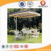 レストランの喫茶店のテラスの傘(UL-A622)のための表そして椅子