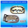 高品質の金属のカスタムベルトの留め金の製造業者、ロゴの一流の安いカスタムベルト