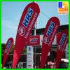 Standplatz-Tintenstrahl-Digital-Drucken-im Freienvinylmarkierungsfahnen-Feder-Fahne