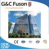 Energie - de Gordijngevel van het Glas van het Aluminium van de besparing