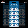 AG2 Lr726 Alkaline Button Cell Battery