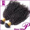 卸し売り完全で健全な端のインドの人間の毛髪の拡張ロスアンジェルス