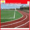 Hierba artificial de goma del deporte corriente para la pista corriente
