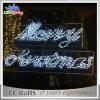 Luces festivas del adorno de la carta de la Navidad de la calle de la cuerda de la decoración LED