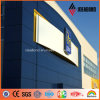 1500*5000mm Factory Price Fresh Blue PVDF Aluminum Exterior Panel