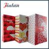 """Día de tarjeta del día de San Valentín - """"te amo"""" bolsa de papel del regalo de las compras de la mano"""