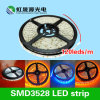 El alto 120LEDs/M brillante impermeable tira de 3528 SMD LED