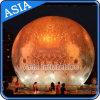 Воздушный шар луны нового продукта СИД раздувной, воздушный шар печатание планеты