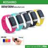 Nuevo Wristband elegante del silicón 2016 con el monitor del ritmo cardíaco