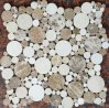 Круглый мрамор пятен конструировал плитку мозаики для живущий украшения