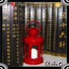 Linterna de huracán colorida barata plástica de la vela de la decoración del ABS