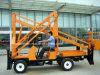 piattaforma di lavoro di Areial del motore diesel di 12m