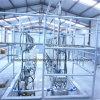 Maquinaria de la granja lechera de la sala de ordeño
