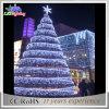 Luz gigante artificial grande ao ar livre iluminada diodo emissor de luz da árvore de Natal do PVC